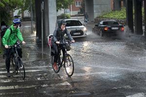 Nu ruller voldsomt vejr ind over Danmark
