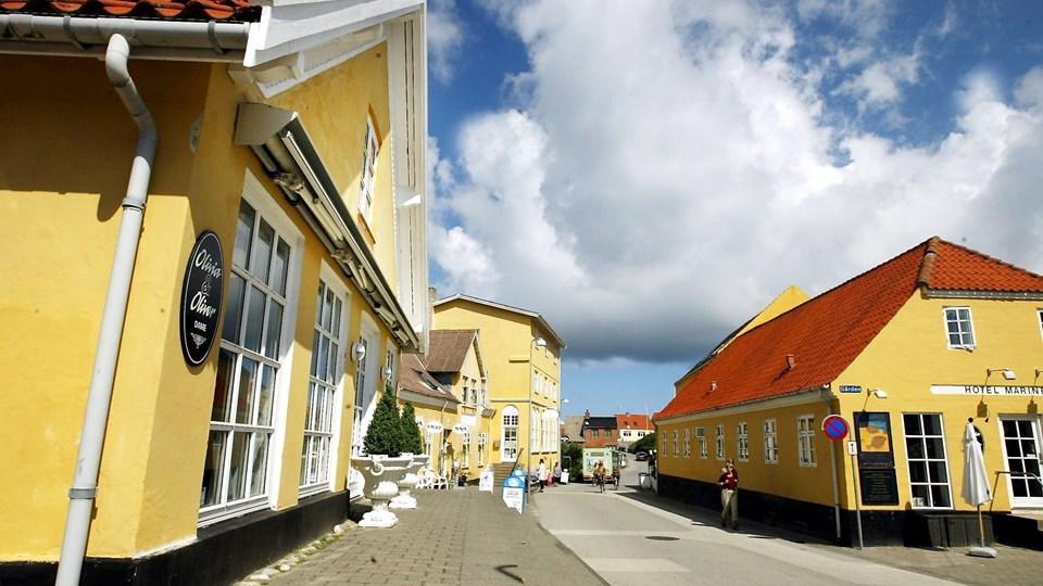 Olivia og Oliver i Lønstrup havde besøg af en aldrende tysk butikstyv. Arkivfoto
