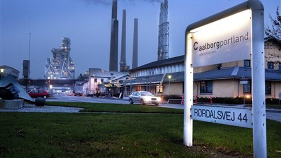 Statsministeren vil ikke lempe forureningsafgift mere end planlagt for cementfabrikkernes vedkommende. Foto: Torben Hansen