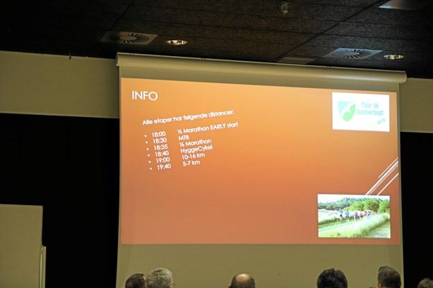 Det var et fint informationsmøde omkring Tour de Jammerbugt 2019. Foto: Flemming Dahl Jensen Flemming Dahl Jensen