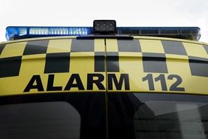 Mand fundet bevidstløs ved bil