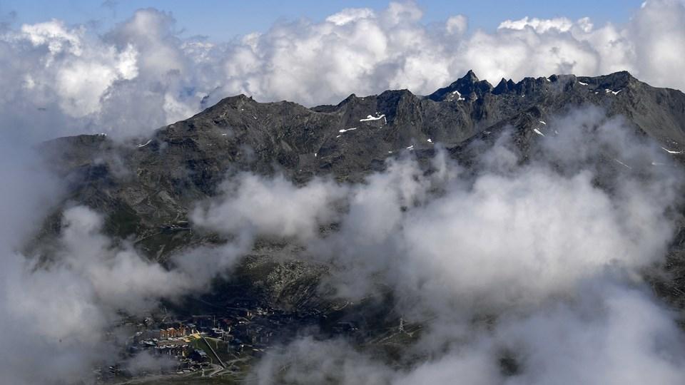 Det er sket et udbrud af mæslinger i det populære skisted Val Thorens i Frankrig. To danskere er blevet smittet efter rejse i området. (Arkivfoto).