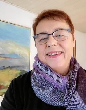 Karen Degn udstiller på Gallerigangen i Møldrup