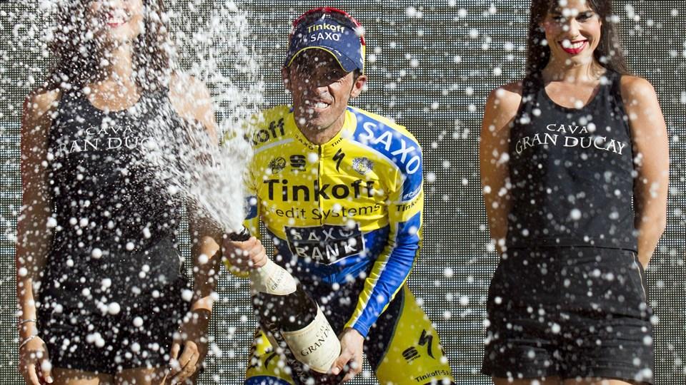 Contador vandt Vueltaen. Arkivfoto: Jaime Reina/Scanpix