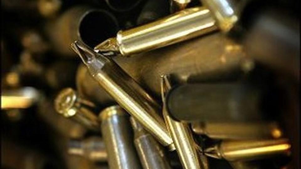 Der blev fundet både rifler og ammunition hos den 63-årige mand, der havde truet med at skyde miljøfolk ved Morsø Kommune. Arkivfoto
