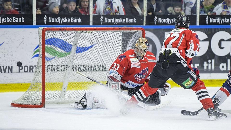 Ronan Quemener stod fremragende i Aalborg-målet.