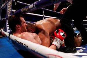 Bidende britisk bokser er suspenderet