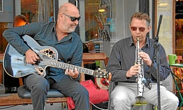 Blue Finger giver koncert.Pressefoto