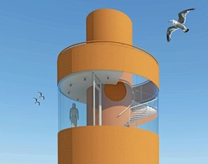 Nyt tårn i Oddesund indvies