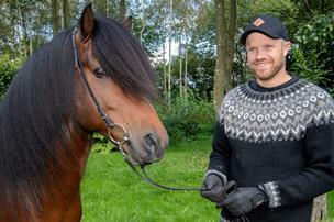Nordjysk rytter er verdensmester: Hesten har en særlig historie i familien