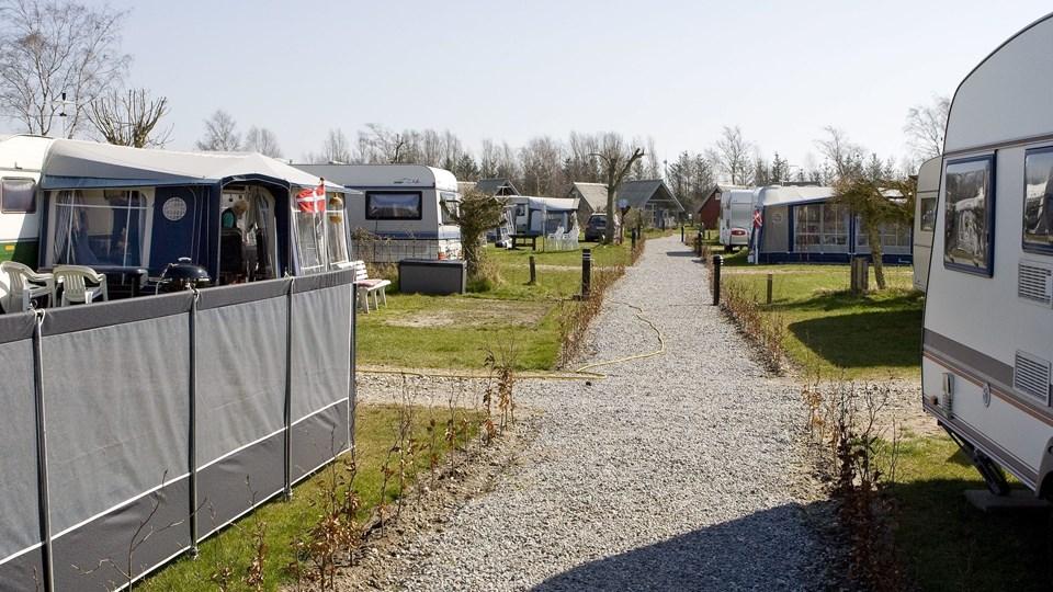 Asaa Campingplads er den eneste traditionelle campingplads i Brønderslev Kommune.Arkivfoto: Carl Th. Poulsen