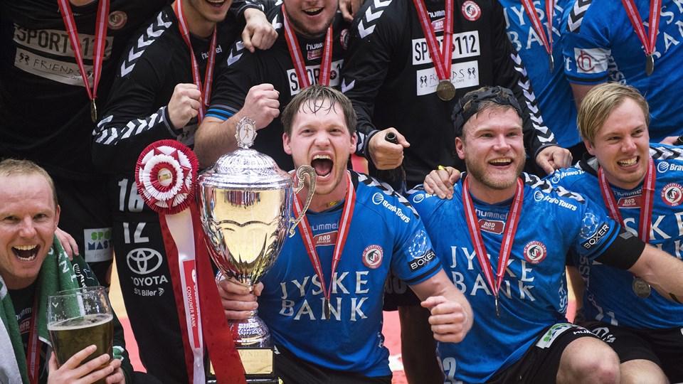 Pokalmestrene fra 2016 undgår konkurs. Foto: Scanpix/Claus Fisker