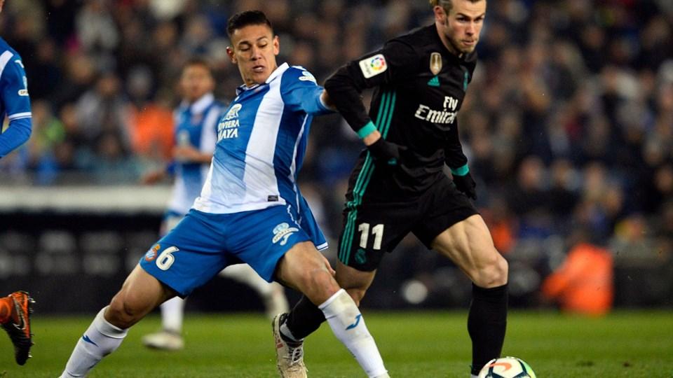 Gareth Bale leverede en bleg indsats mod Espanyol. Foto: Scanpix/Josep Lago