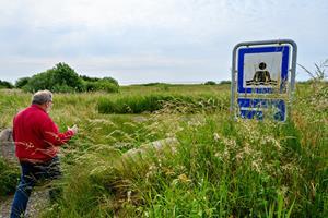 Bjarne vil kæmpe for sin by: Nu afslører han sin hemmelige strand