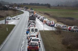 Strækningen skal forbedres: Vejen fra Hanstholm til Herning bør være tre spor