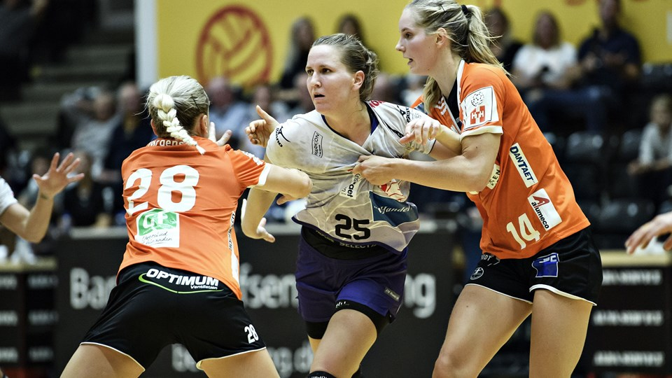 Odense Håndbold fik den fjerde sejr på stribe hjemme mod Viborg HK. Foto: Anita Graversen/arkiv/Ritzau Scanpix