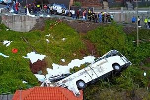 29 tyske turister dør i busulykke på portugisisk ferieø
