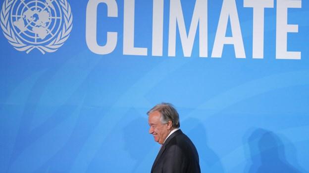 FN-chef efter topmøde: Vi kan vinde klimaræset