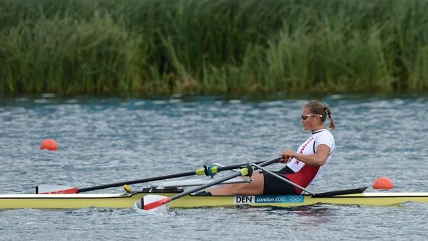 Fie Udby fik ikke OL-billet med hjem fra VM