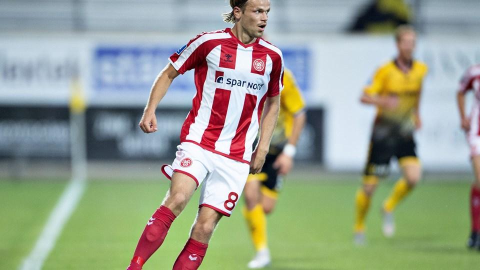 AaB's Ivar Fossum scorede hattrick, da AaB i pokalturneringen slog Nørresundby 8-0.