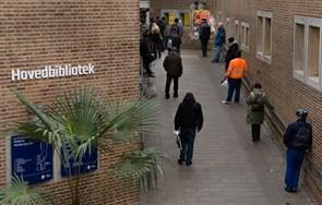 Byggerod: Bibliotek må lukke hovedindgang