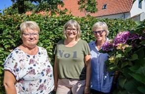 Jette, Gitte og Inger åbner lukkede døre med respekt og vedholdenhed
