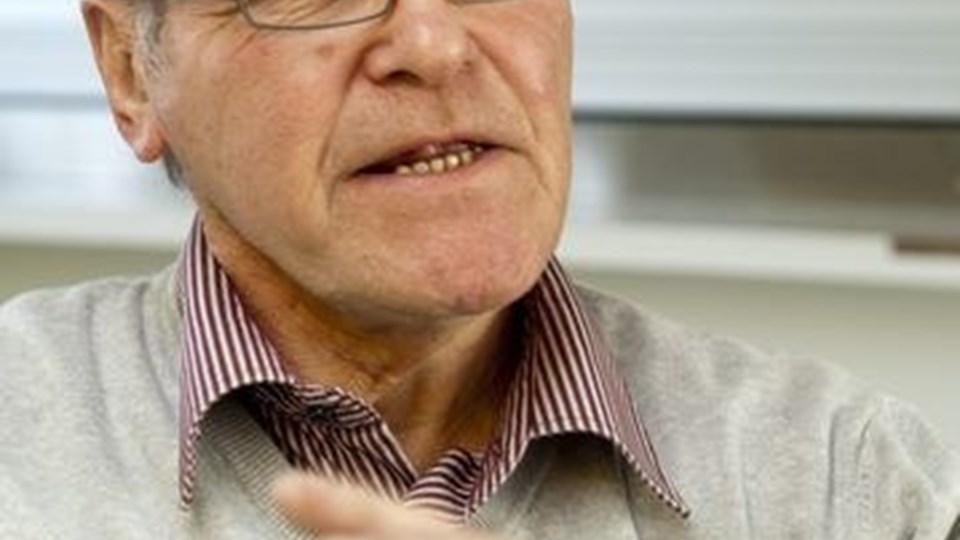 Tidligere tømmerhandler Kurt Christensen fylder torsdag 70 år. Foto: Kurt Bering