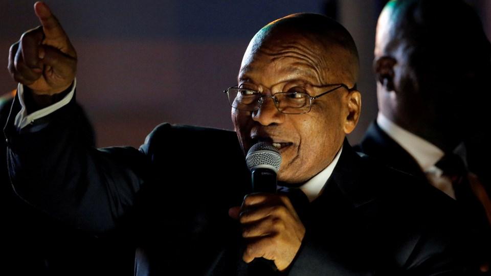Den tidligere sydafrikanske præsident Jacob Zuma tiltales for korruption. Foto: Reuters/Mike Hutchings/arkiv