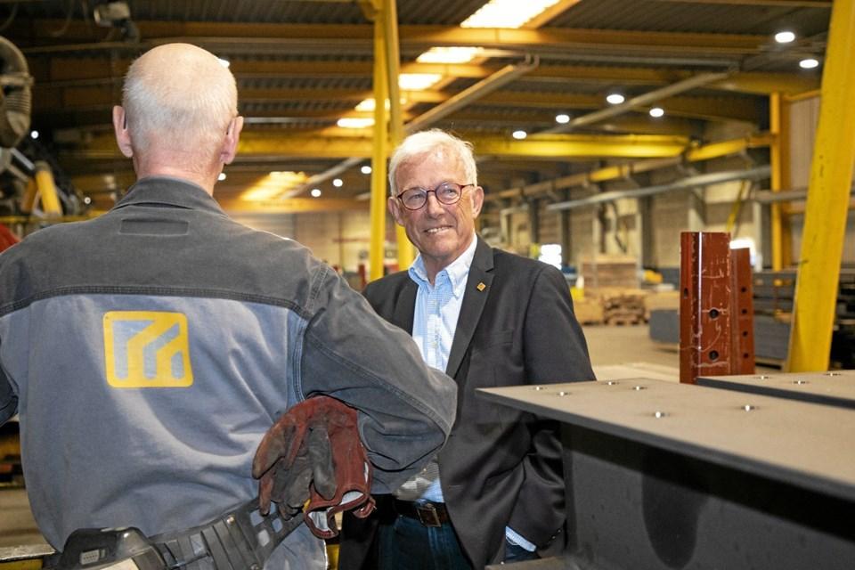 Svend Møller Hansen startede det, der i dag er DS Gruppen, for 50 år siden. Foto: DS Gruppen