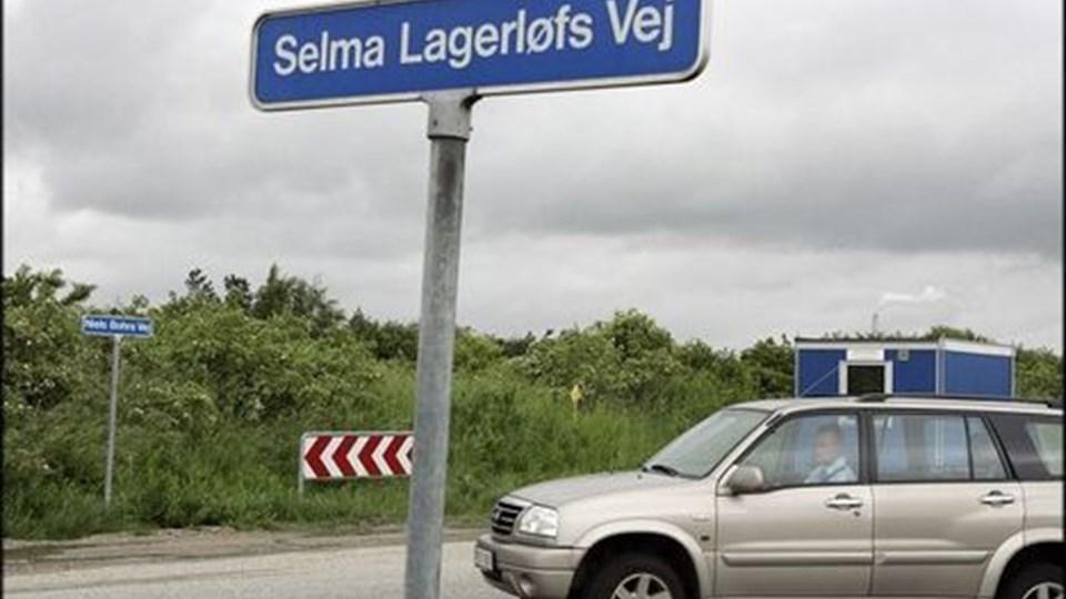 Rundkørslen, der skal forbinde Selma Lagerløfsvej med Egensevej, er rykket et skridt nærmere. arkivfoto: henrik bo