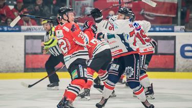 Rivalisering mellem de nordjyske klubber: Før i tiden var politiet til stede - nu holdes slåskampene på isen