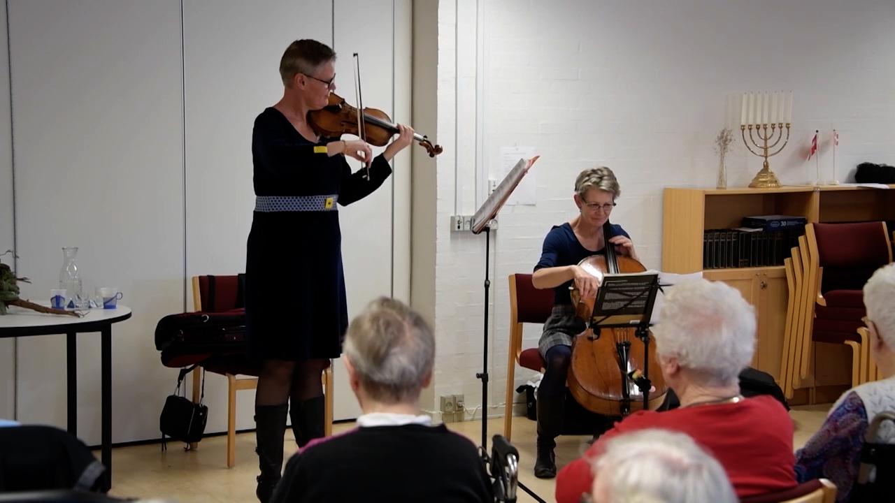 Hør Aalborgs fineste orkester: Det mest rørende er at spille på hospitalsgangene