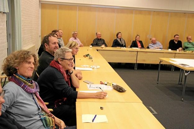 Der var stort fremmøde fra de forskellige landdistrikter i Jammerbugt kommune. Foto: Flemming Dahl Jensen Flemming Dahl Jensen