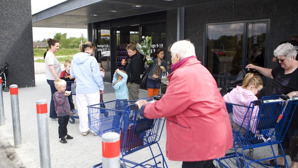 Discount vinder frem både i Hirtshals, Hjørring og Sindal. Arkivfoto: Kurt Bering