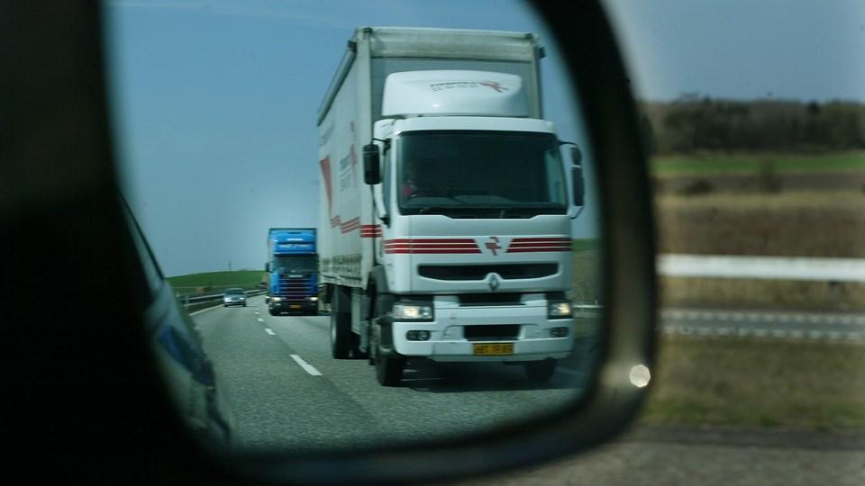 Tusinder af chauffører har fået ny overenskomst - med lave lønstigninger. Arkivfoto Grete Dahl