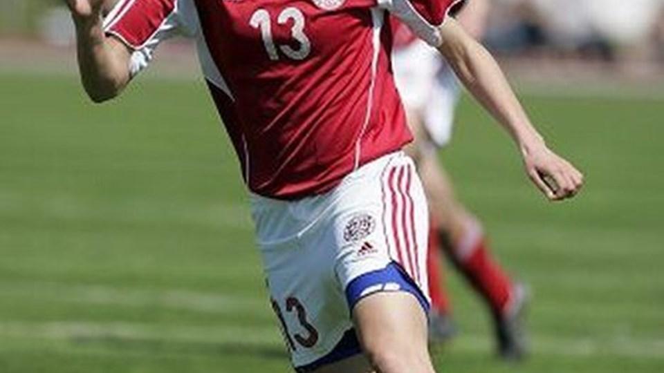 Johanna Rasmussen lagde op til fem mål i 6-1 sejren. Foto: Bente Poder