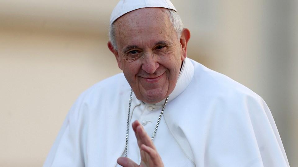 """Pave Frans opfordrede i februar til et """"endeligt opgør"""" med overgreb begået af præster mod mindreårige. (Arkivfoto)."""