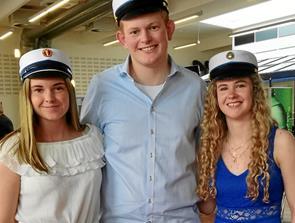 Årets første handelstudenter