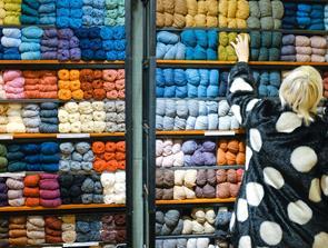 At strikke er både bæredygtigt og miljøvenligt