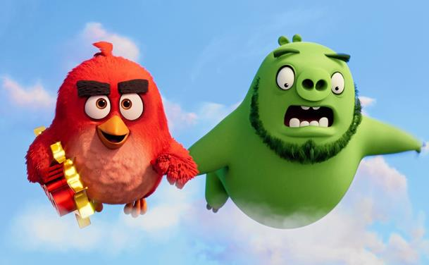 Vrede fugle, cheerleading og Hollywood