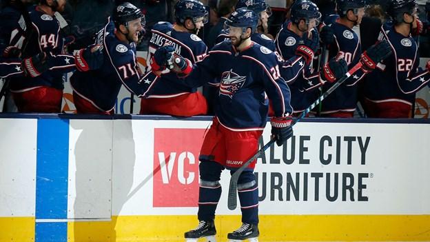 Bjorkstrand sikrer Columbus sæsonens første sejr i NHL