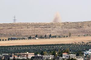 Israelsk militær opruster ved Golanhøjderne