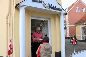 Valdemar på plads i nyt galleri