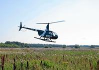 De oplevede Sindal og omegn fra helikopter