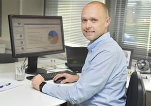 Michael droppede jobbet for at blive selvstændig: Fascineret af effektive systemer