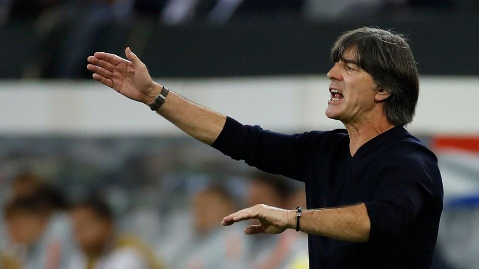 Tyskland og træner Joachim Löw skulle vinde og gjorde det mod Nordirland, som i EM-kvalifikationen blev slået 2-0 i Belfast mandag aften. (Arkivfoto)