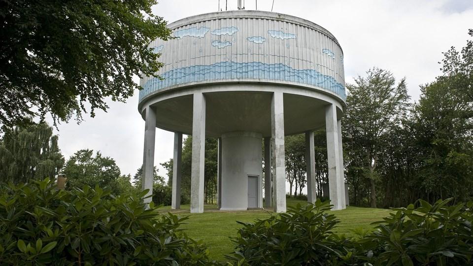 Kom med en idé til vandtårnets anvendelse, lyder det fra vandforsyningen. Foto: Carl Th. Poulsen