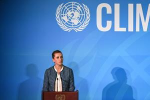 Statsministeren kalder klimaet vor tids største udfordring