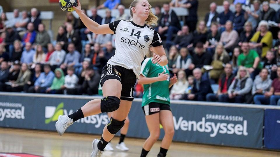 EH Aalborg møder lørdag Skanderborg Håndbold på udebane. Arkivfoto: Lars Pauli