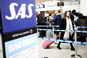 SAS-strejke kostede Københavns Lufthavn 85.000 rejsende